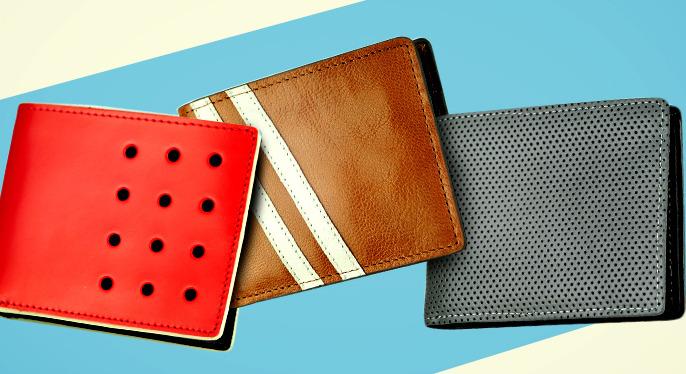 Sleek Leather Wallets at Gilt
