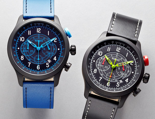 Sporty Watches feat. Fossil & More at MYHABIT
