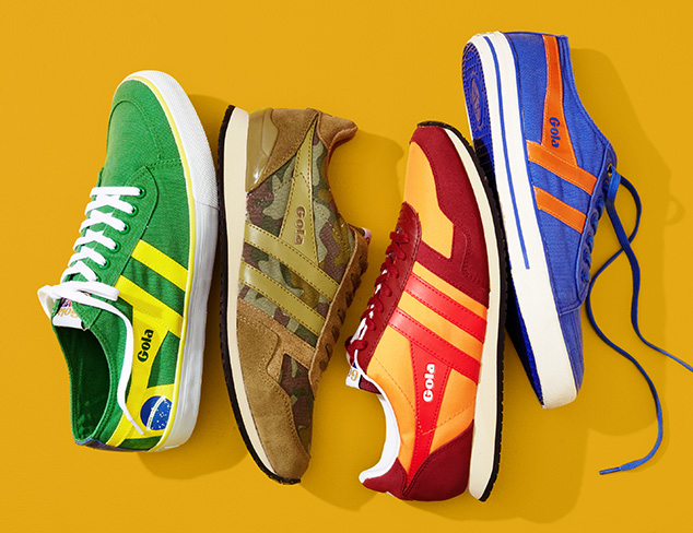 Stand Out in a Crowd: Colorful Sneakers at MYHABIT