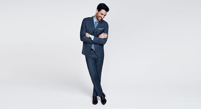 Suiting by Color at Gilt