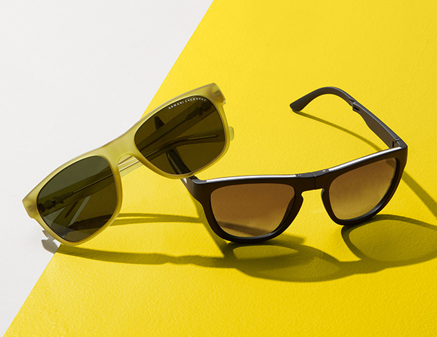 Sunglasses & Eyewear feat. Armani Exchange at MYHABIT