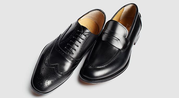 The Black Dress Shoe at Gilt