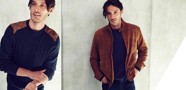 The Men's Layered Look: Light Jackets & Sweaters at Rue La La