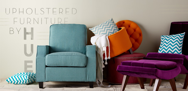 Upholstered Furniture by Hue: Dress Up Every Room at Rue La La
