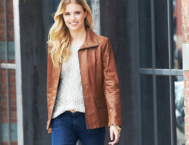 Wear Together: Leather Jackets & Skinny Jeans at MYHABIT