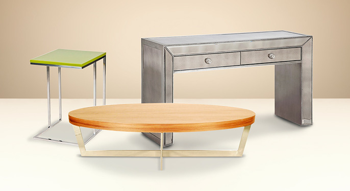 We're Talking Tables: Coffee, Side & More at Gilt