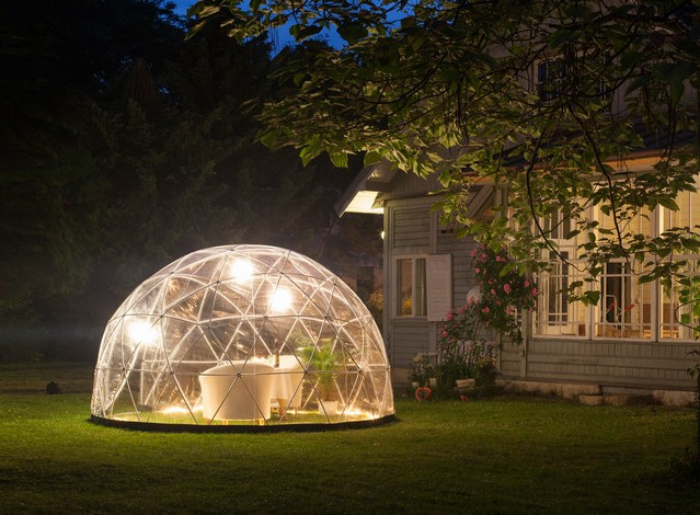 Garden Igloo: The All-Year Outdoor Igloo
