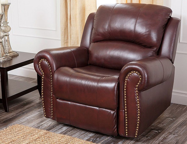 Abbyson Leather Furniture at MYHABIT