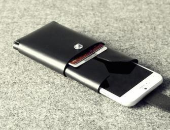 Charbonize Leather iPhone 6 Wallet Case