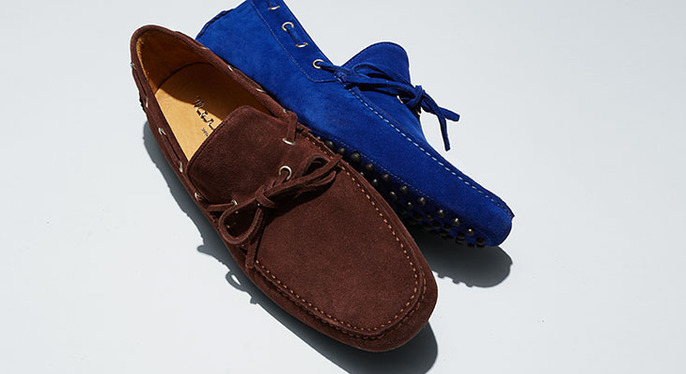 Fall Staple: The Suede Shoe at Gilt
