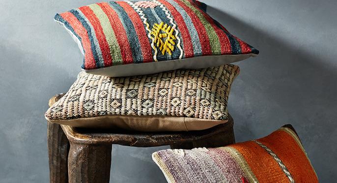 Kilim Style: Pillows at Gilt