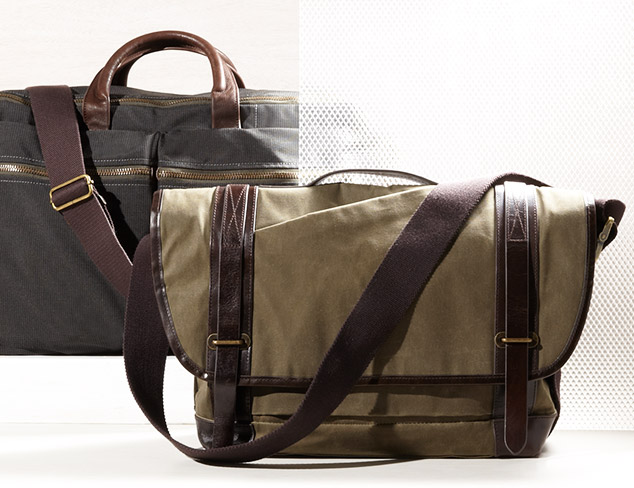 Leather & Canvas Bags at MYHABIT