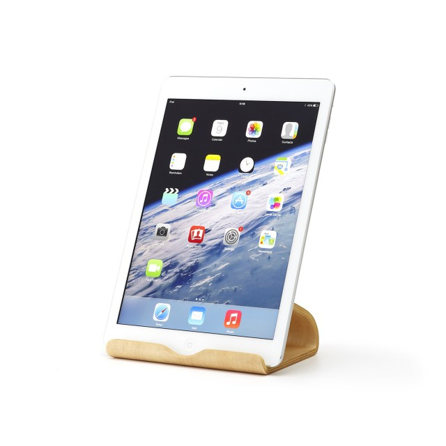 MOKU Woodware Desktop Chair Tablet Stand