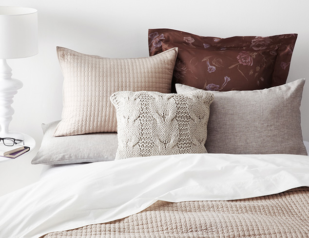 Quilts, Pillows & More feat. Amity Home at MYHABIT