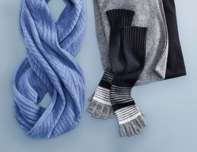 Seasonal Scarves feat. Cullen at MYHABIT