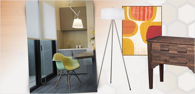 Sleek & Clean: Mid-Century Modern Furnishings at Rue La La