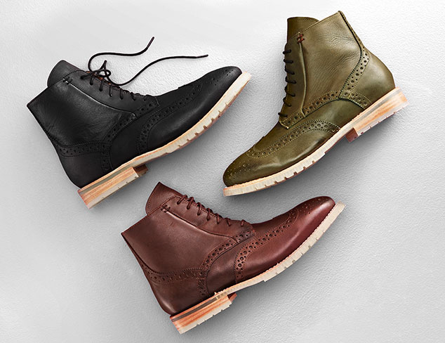 The Modern Man: Shoes & Boots at MYHABIT