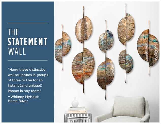The Statement Wall: New Sculptures by C'Jere at MYHABIT