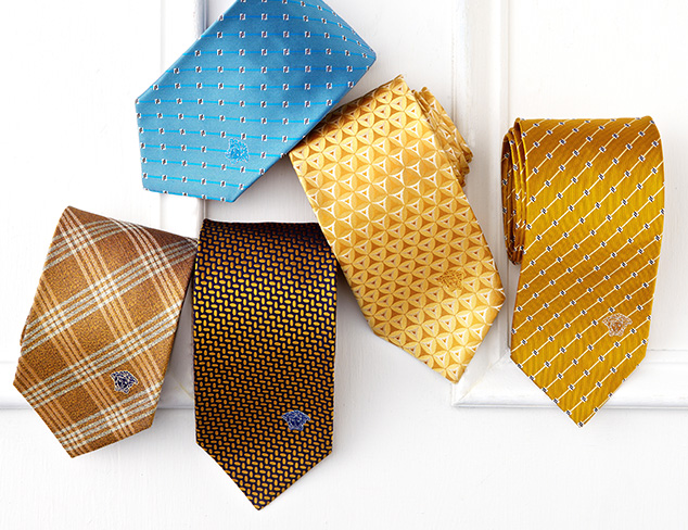 Ties feat. Versace at MYHABIT