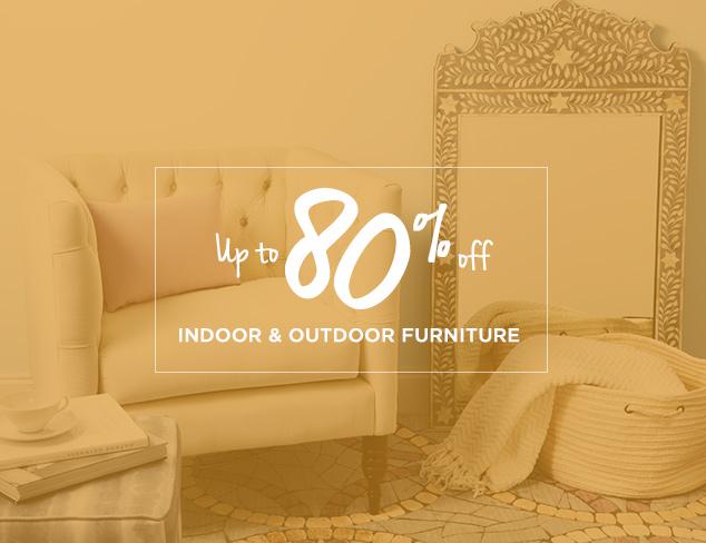 Up to 80% Off: Indoor & Outdoor Furniture at MYHABIT