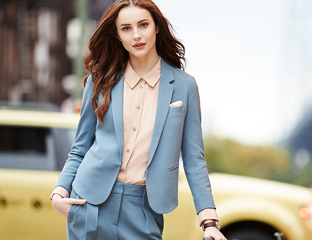 Wear-to-Work Suiting by Chaiken at MYHABIT