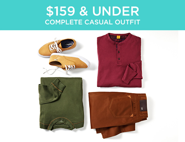 $159 & Under: Complete Casual Outfit at MYHABIT