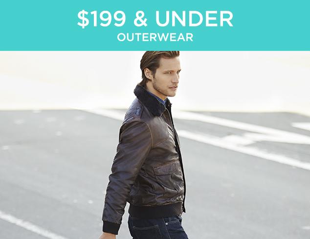 $199 & Under: Outerwear at MYHABIT