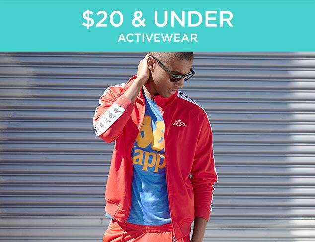 $20 & Under: Activewear at MYHABIT