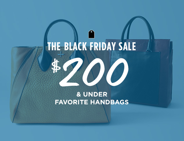 $200 & Under: Favorite Handbags at MYHABIT