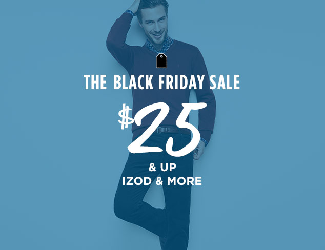 $25 & Up: IZOD & More at MYHABIT