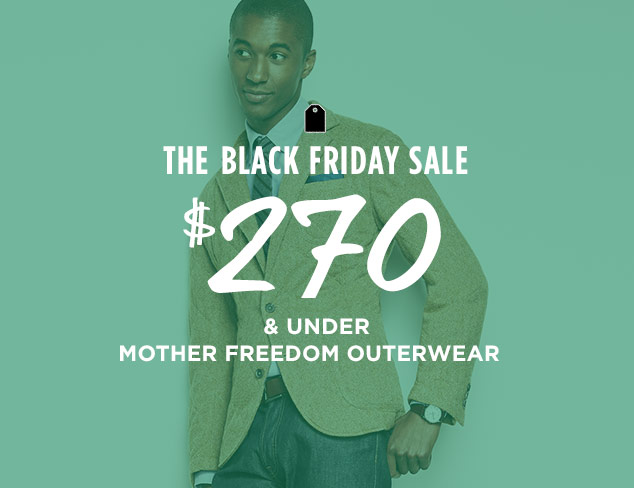 $270 & Under: Mother Freedom Outerwear at MYHABIT