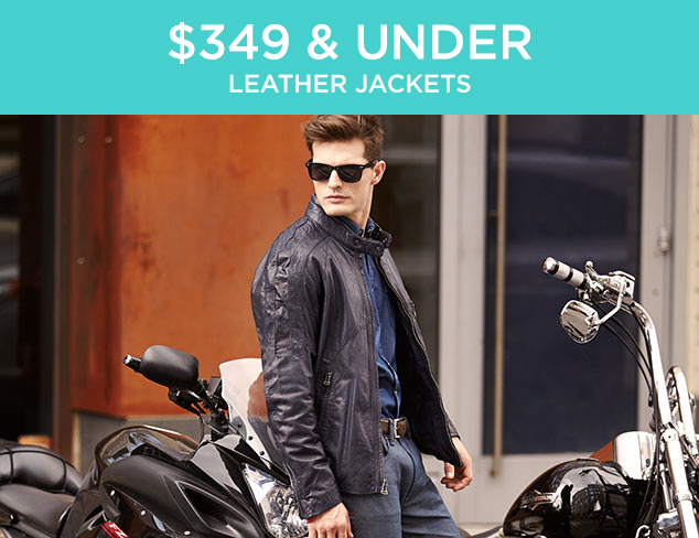 $349 & Under: Leather Jackets at MYHABIT