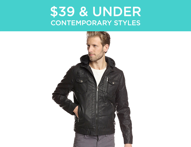 $39 & Under: Contemporary Styles at MYHABIT