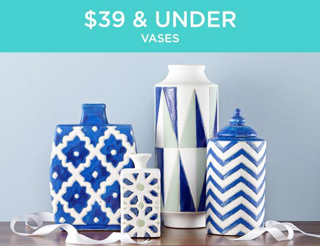 $39 & Under: Vases at MYHABIT