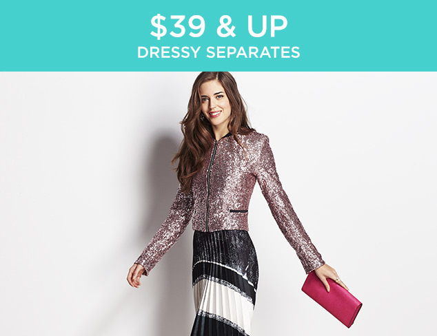 $39 & Up: Dressy Separates at MYHABIT