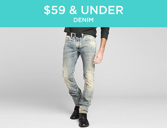 $59 & Under: Denim at MYHABIT