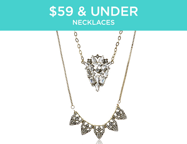 $59 & Under: Necklaces at MYHABIT