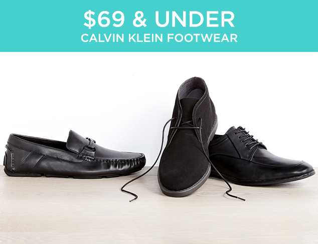 $69 & Under: Calvin Klein Footwear at MYHABIT