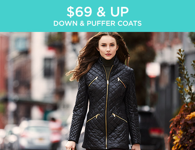 $69 & Up: Down & Puffer Coats at MYHABIT