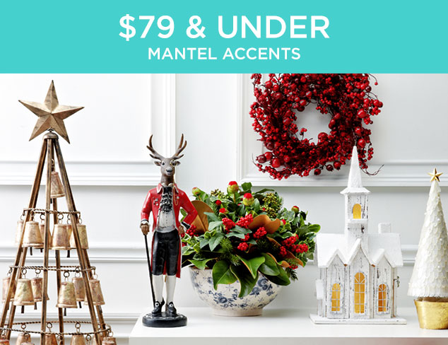 $79 & Under: Mantel Accents at MYHABIT
