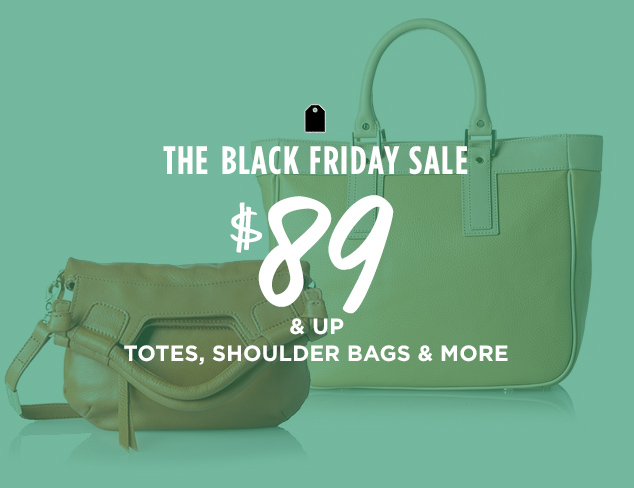 $89 & Up: Totes, Shoulder Bags & More at MYHABIT