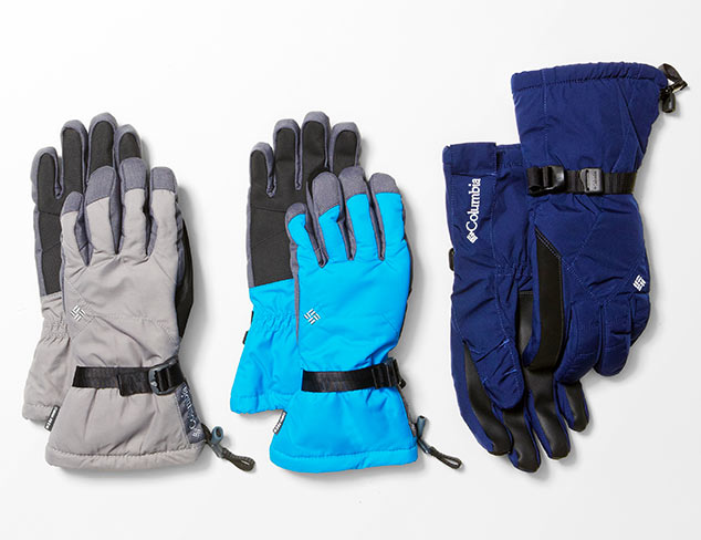 $95 & Under: Sport Gloves feat. Columbia at MYHABIT
