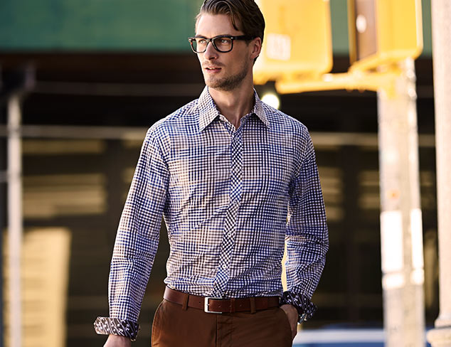 Be Bold: Stand-Out Shirting at MYHABIT