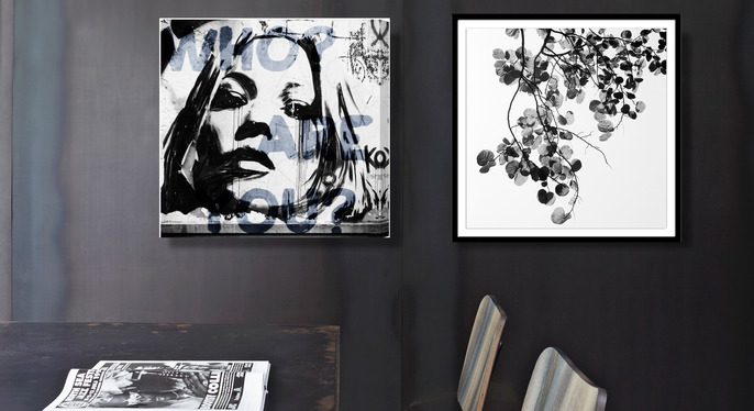 Black & White Art Under $100 at Gilt