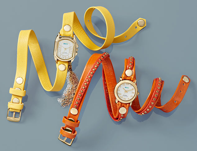Casual Cool: Watches feat. La Mer Collections at MYHABIT