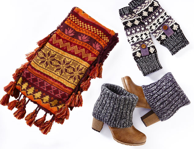 Cozy Gifts: Muk Luks Socks, Tights, & More at MYHABIT
