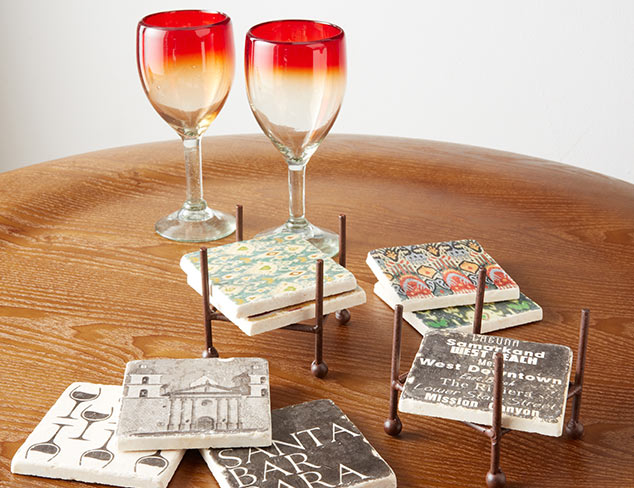 Decorative Coasters at MYHABIT