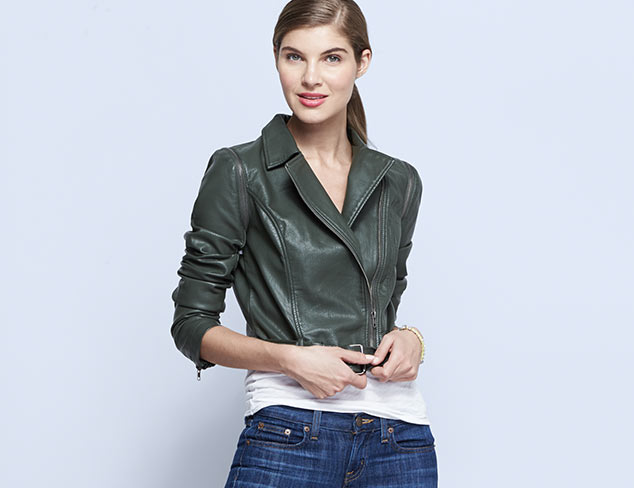 Downtown Cool: Jackets, Tops & More at MYHABIT