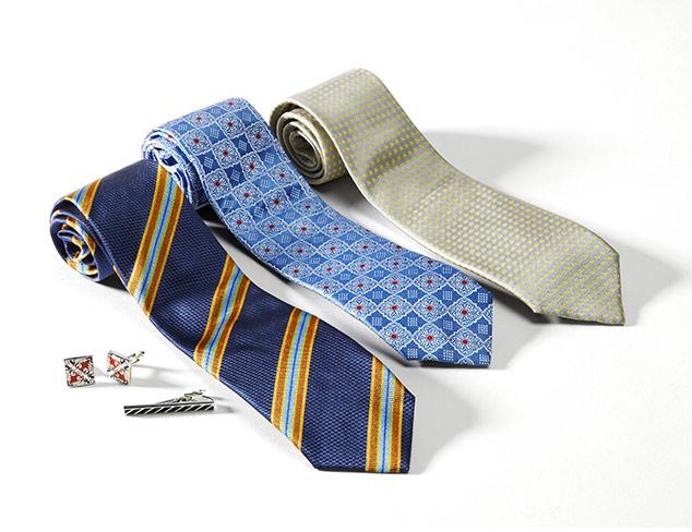 Dress Your Best: Ties & Accessories at MYHABIT
