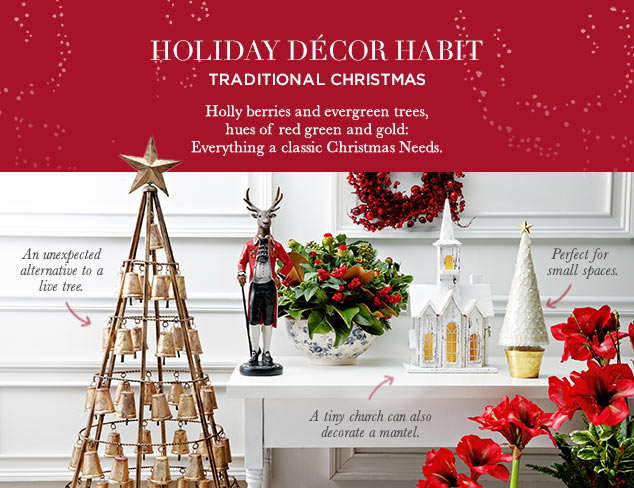 Holiday Décor Habit: Traditional Christmas at MYHABIT